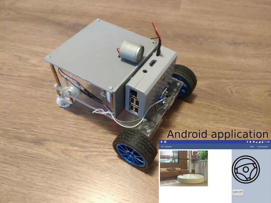 Mobile Remote Surveillance Camera - Arduino Project Hub