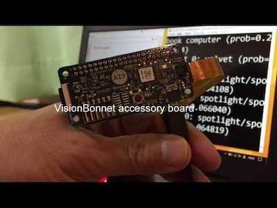 Raspberry Pi Zero W + VisionBonnet | Image Classification