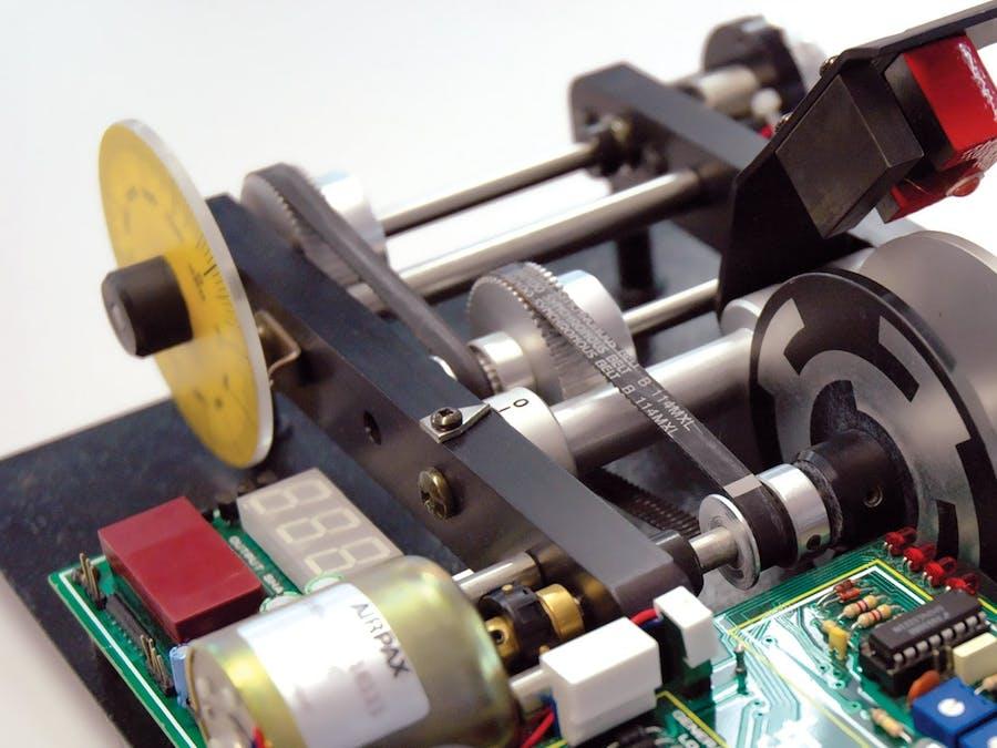 Stepper Motor Control with Joystick