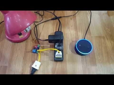 Alexa Echo + ESP8266 = Smart Power Plug