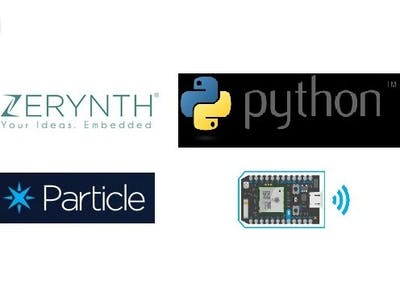 Particle Photon Goes Python Via Zerynth