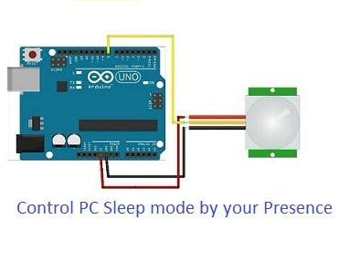 DIY PC's Auto Sleep Mode Sensor