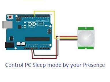DIY PC's Auto Sleep Mode Sensor