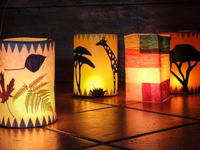 Edison: Nightlight Lantern Powered by Alexa