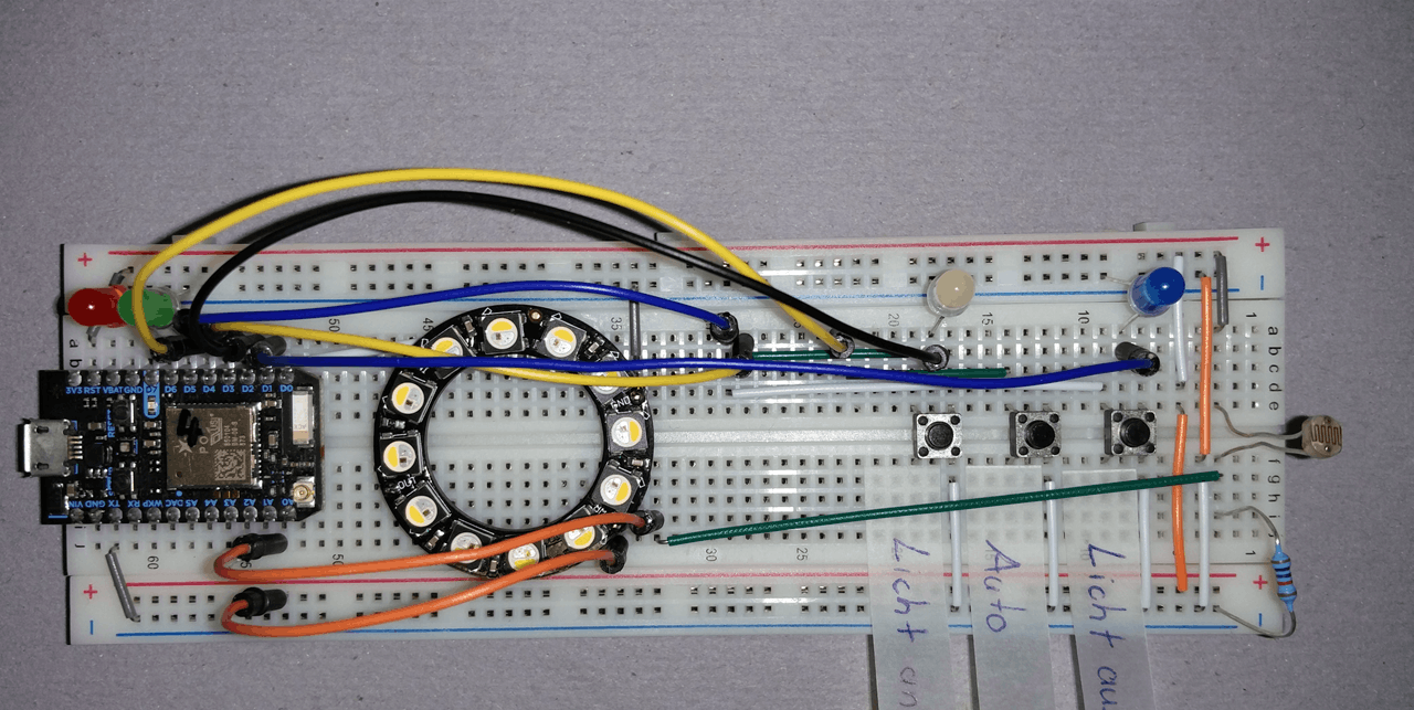 Particle Photon LEA prototype