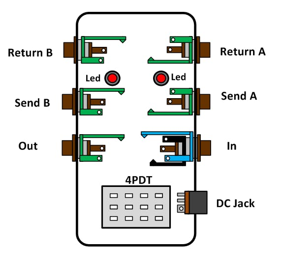 Led Wiring Diagram Pedal - Technical Diagrams on