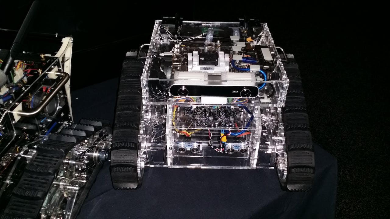 MyzharBot - mobile tracked robot - Hackster io