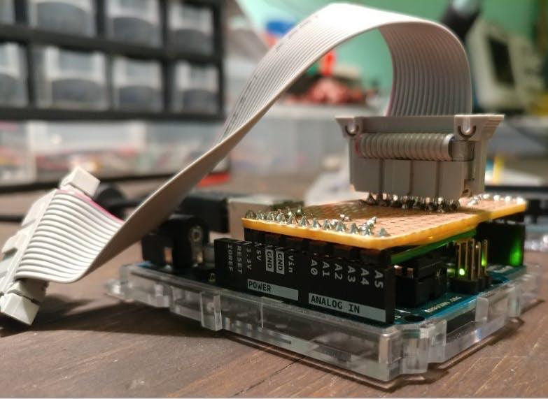 Homemade RGB LED Matrix Shield