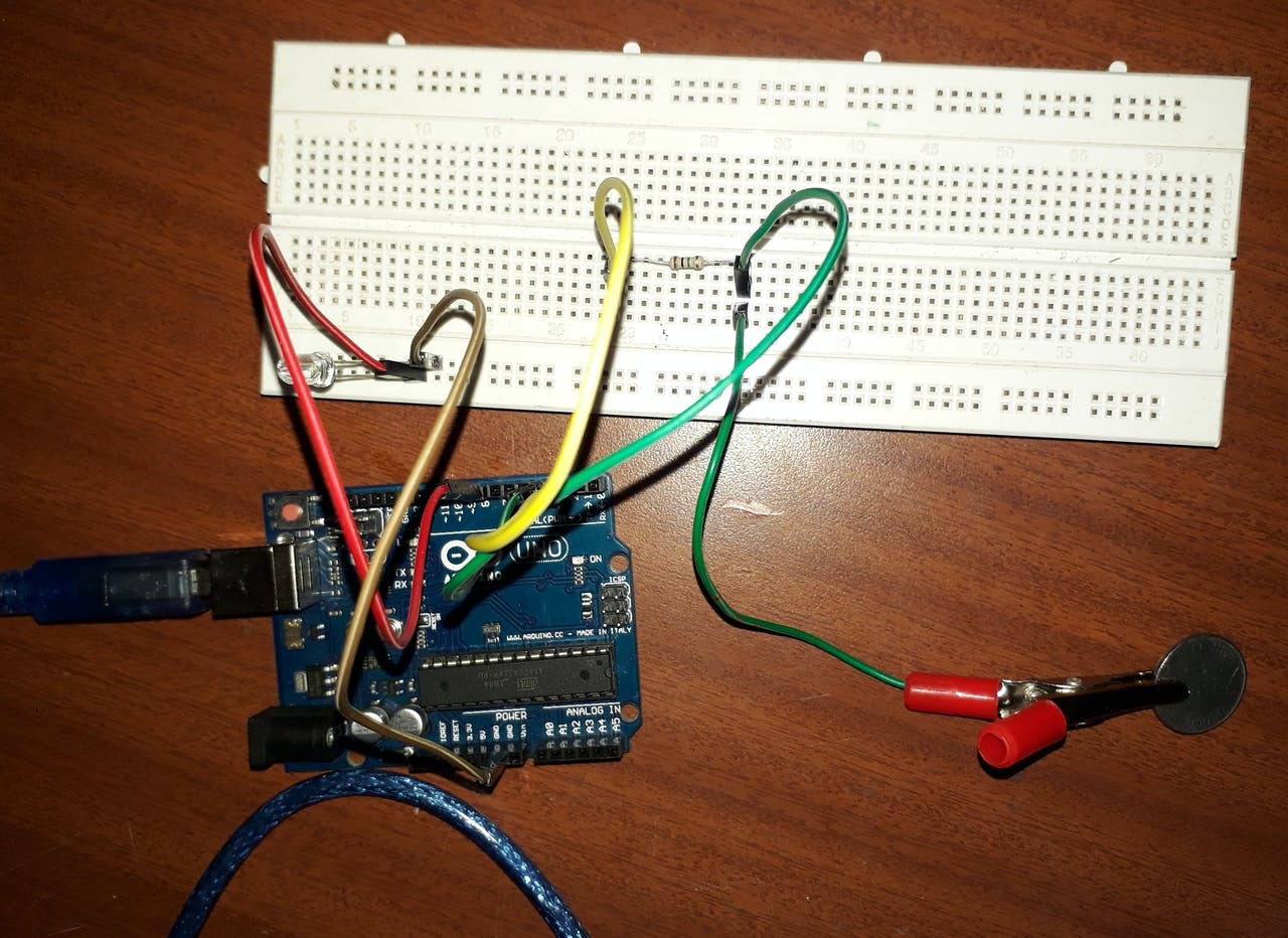Touch Controlled Light Using Arduino Relay Control Circuit Diagram Simple