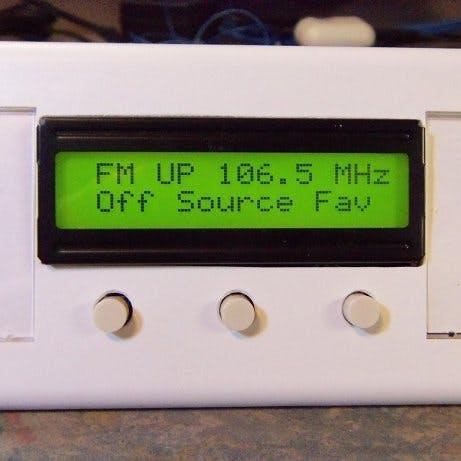 Controller fm tuner select favorites pmklm1mobk