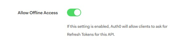 Alexa Skill will be requesting Refresh Tokens