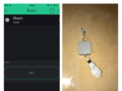 The Easiest  IoT Room