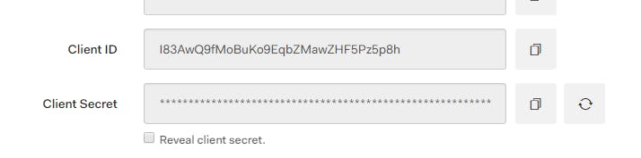 Copy your client Id and secret for Account Linking in your Skill