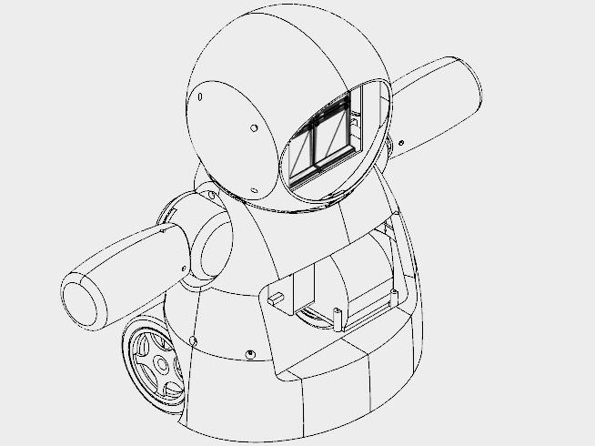 Joy Robot Rob Da Alegria Cc By Nc Sa
