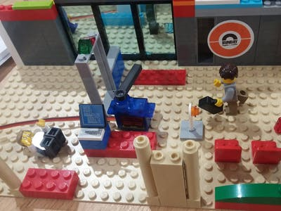 LEGO Automatic Car/People Barrier