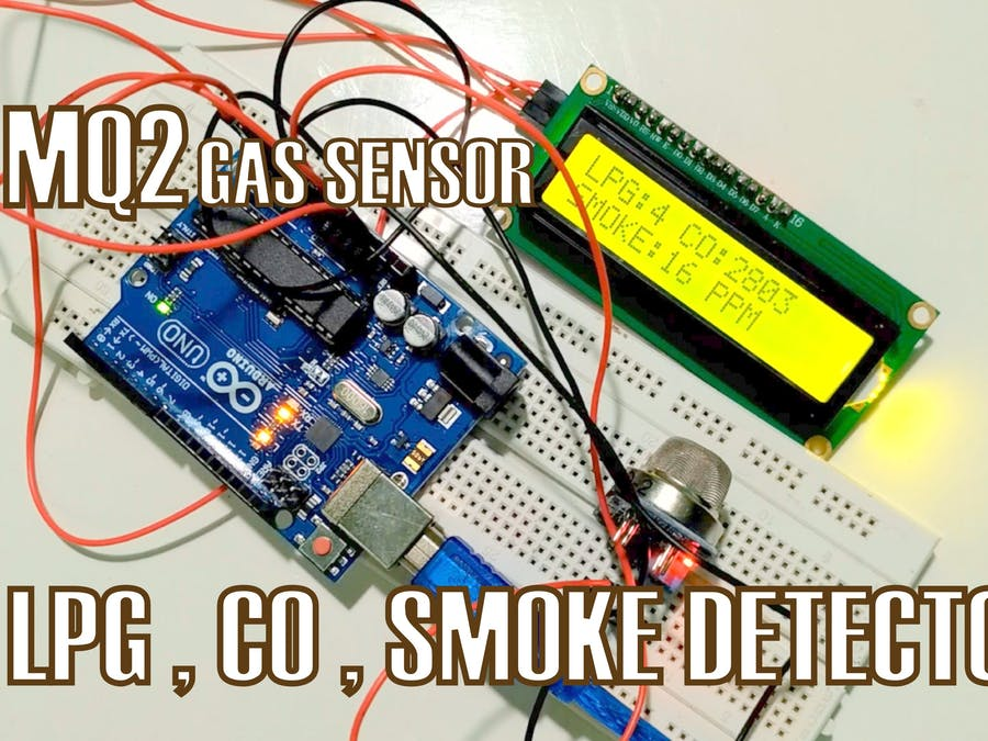 How to Connect MQ2 Gas Sensor to Arduino - Hackster io