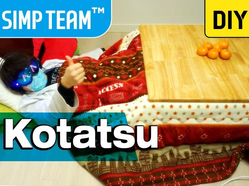 How To Make an Arduino Japanese Kotatsu (Heating Table)