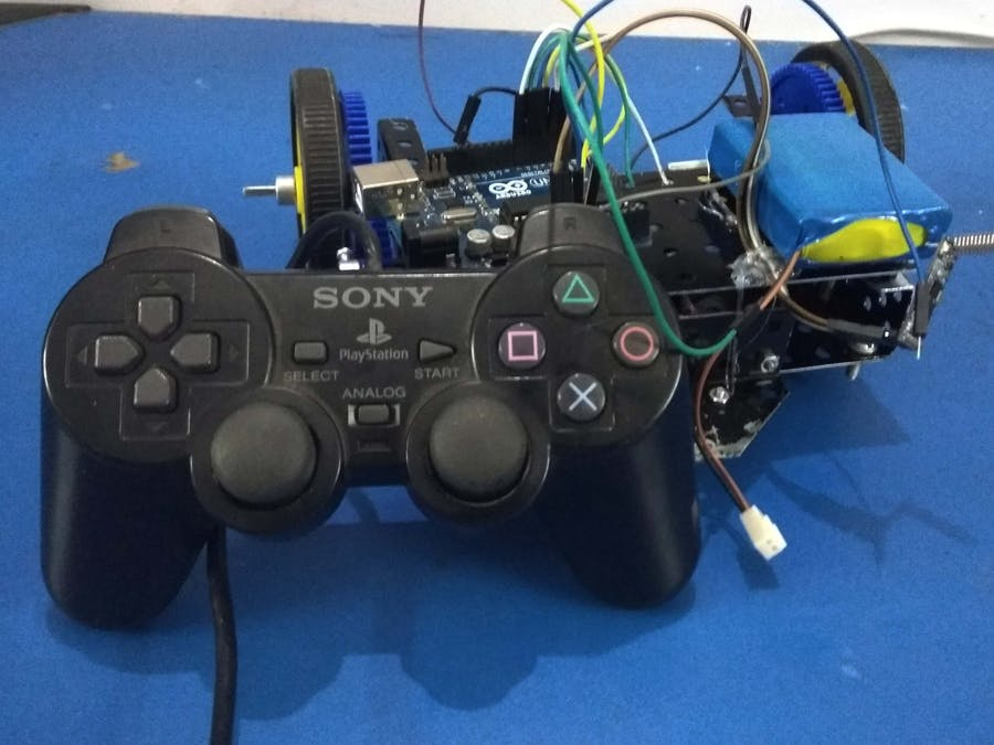 PlayStation Remote Controlled Wireless Car - Hackster io
