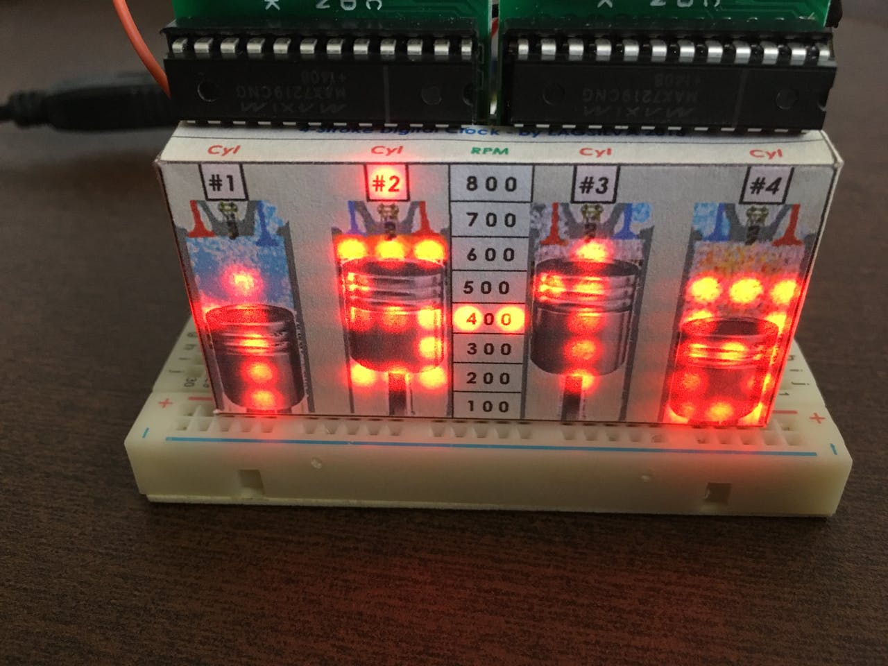 4-Stroke Digital Clock With Arduino - Arduino Project Hub
