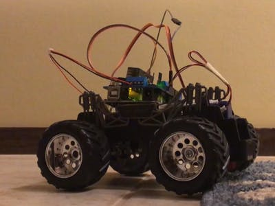 RC Car Over Spektrum Remote