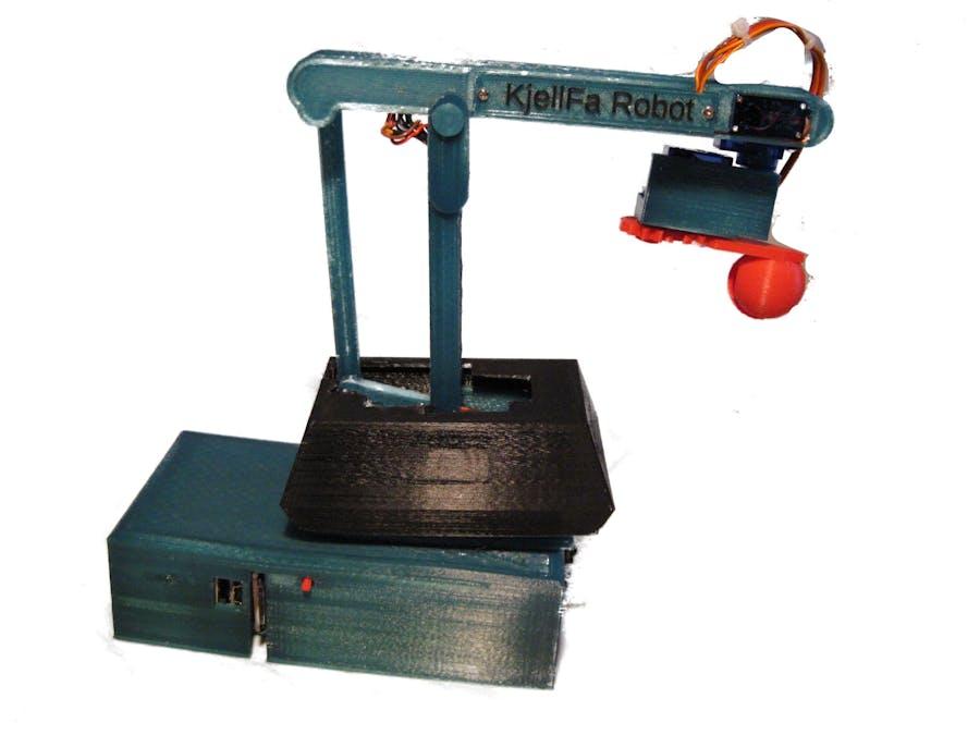 KjellFa Robot: A Replica Of The Trallfa Robot