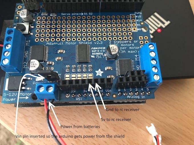 RC Car Over Spektrum Remote - Arduino Project Hub