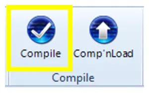 Note: This step could be skipped. However, compiling is essential for debugging purposes.