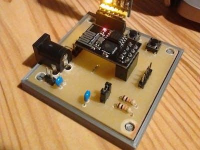 ESP8266 ESP01 Breakout Board