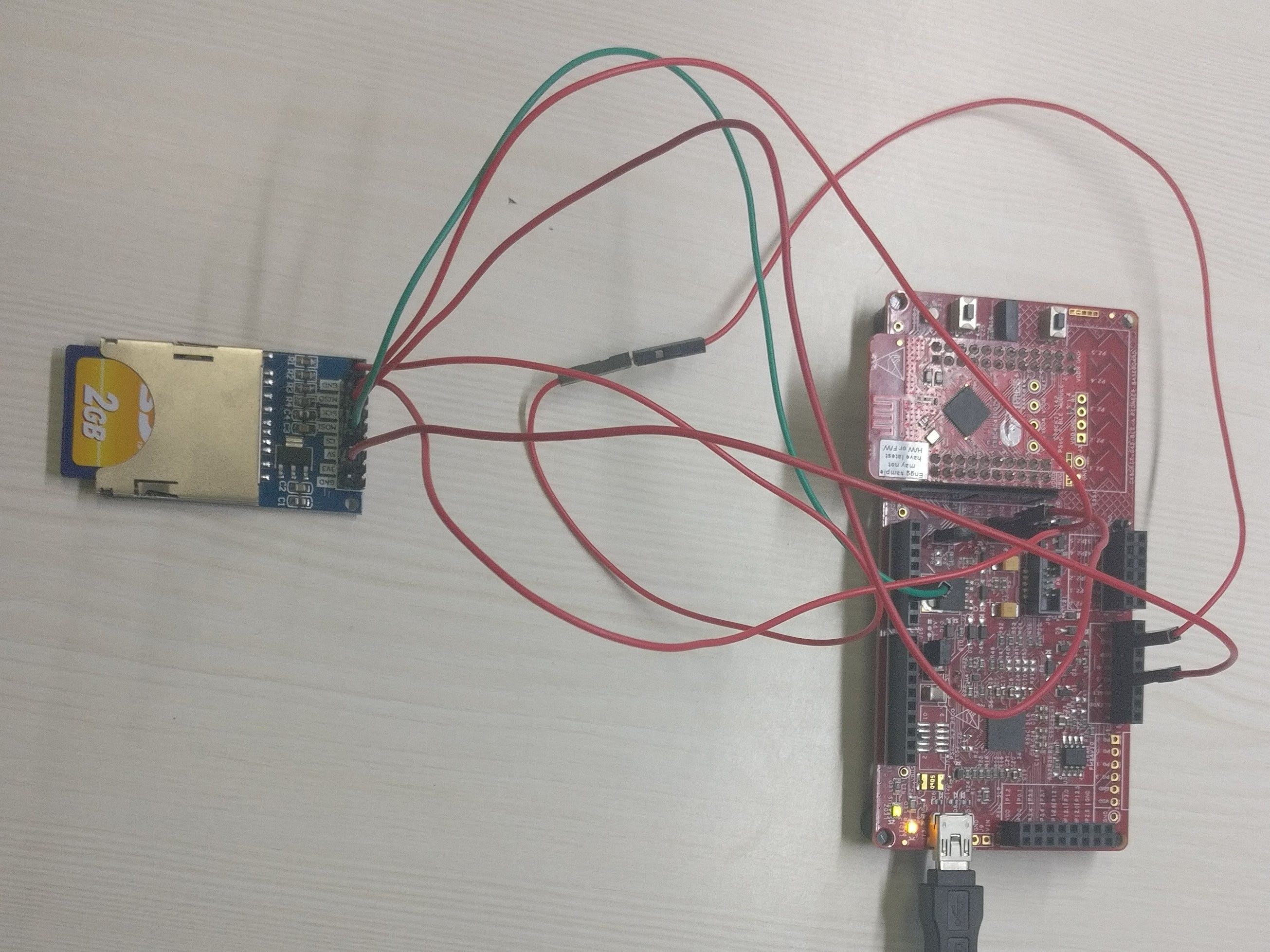 PSoC 4 SD Card Interface