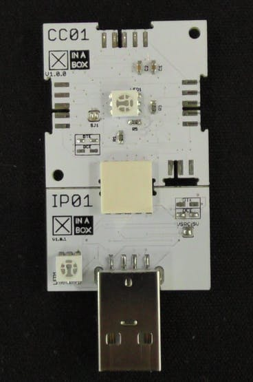 Figure 2: Connected IP01 and CC01