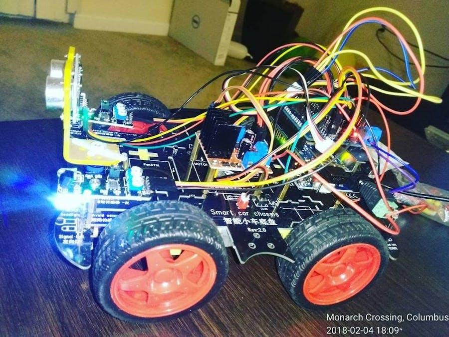 Phpoc Arduino Smart Car