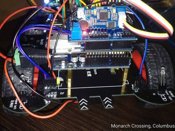 Voice Command - Arduino Smart Car