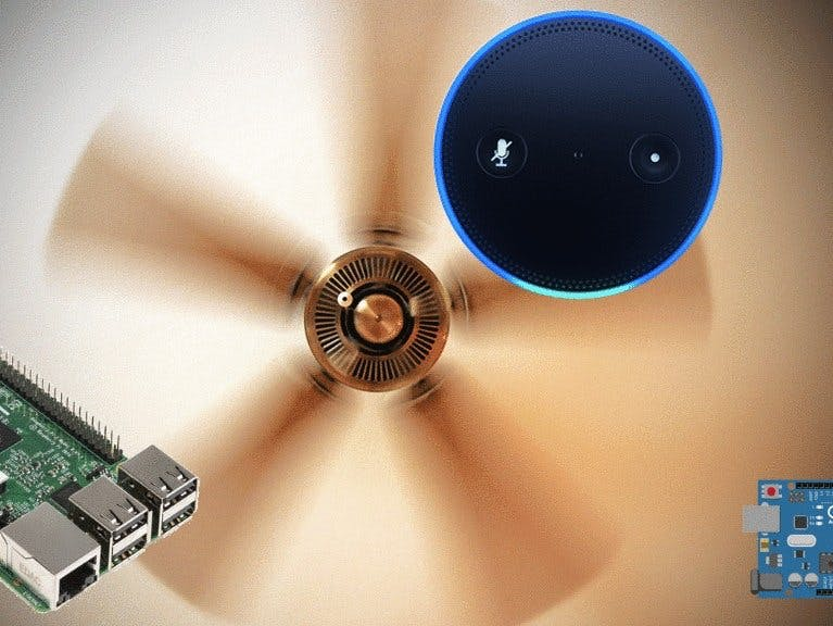 Enable Alexa Control to your Ceiling Fan