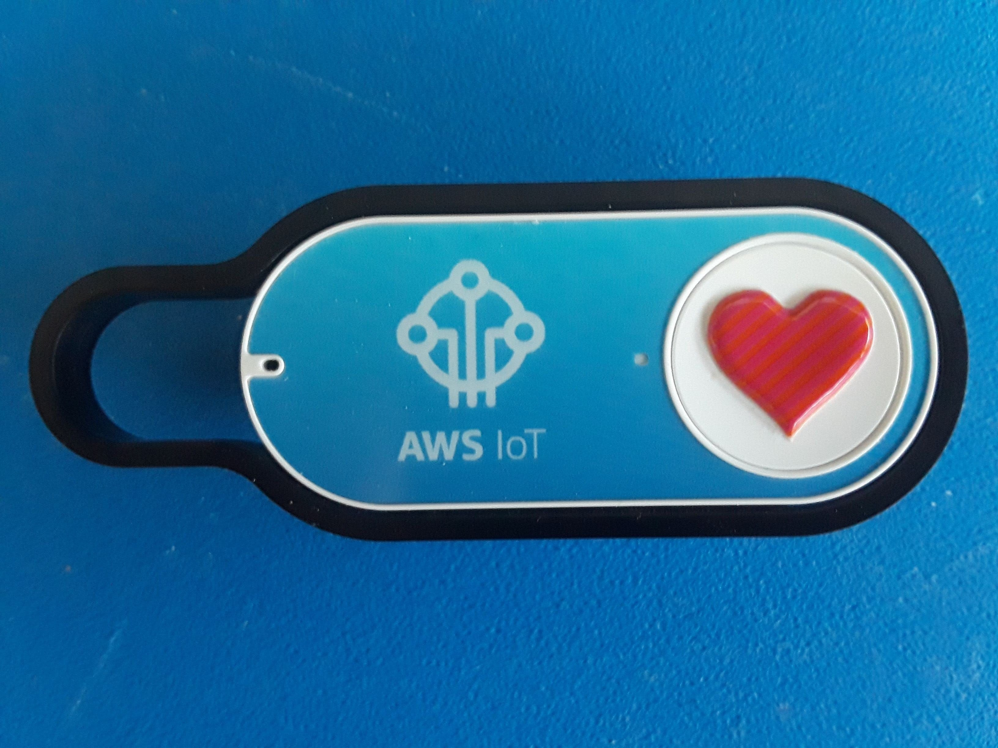 AWS IOT 'Easy Button' Enhances Your Relationship!