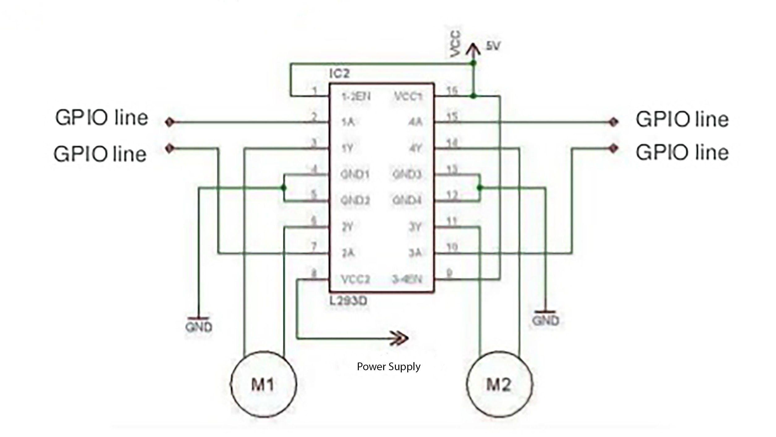 L293D Wiring