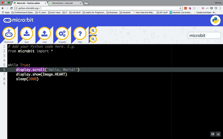 display.scroll command