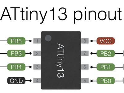 Programming ATtiny13 with Arduino Uno