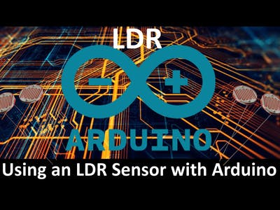 Using An LDR Sensor With Arduino