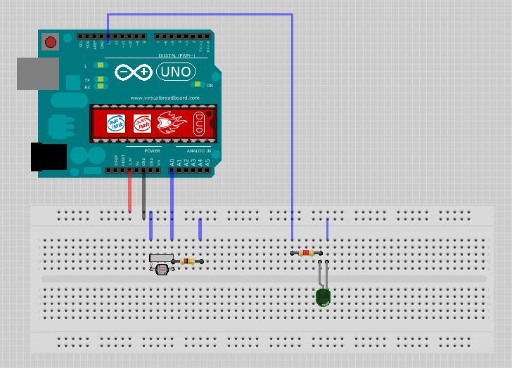 Using An LDR Sensor With Arduino - Hackster.io