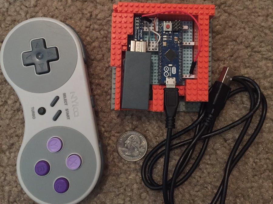 SNES classic controller usb HID - Arduino Project Hub