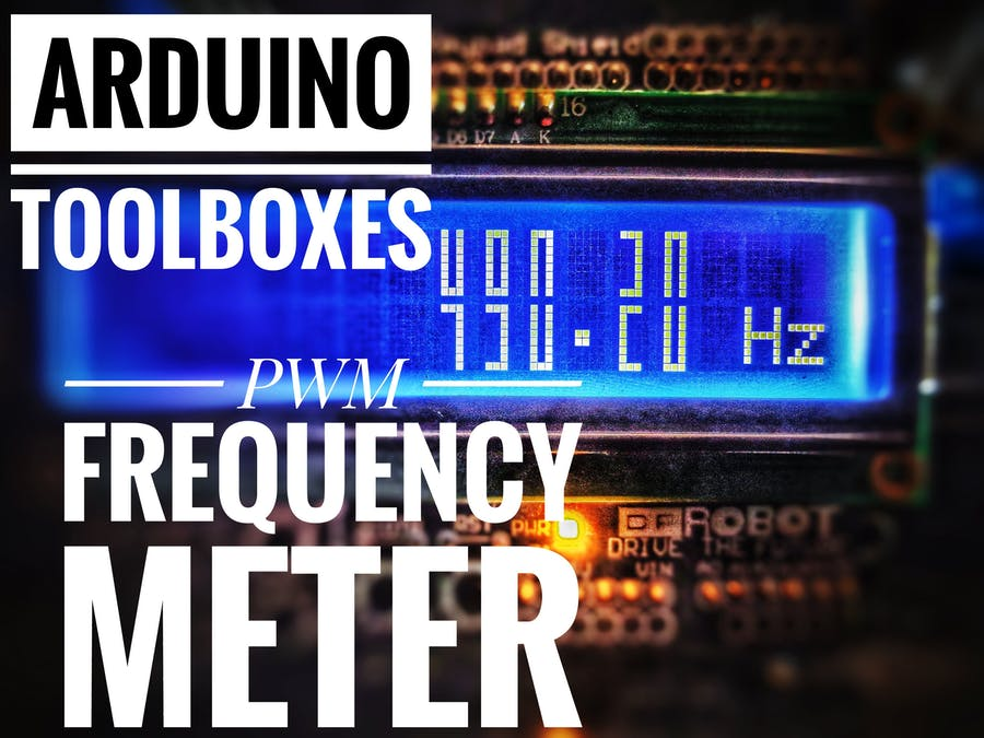 Arduino Toolboxes: PWM Frequency Meter