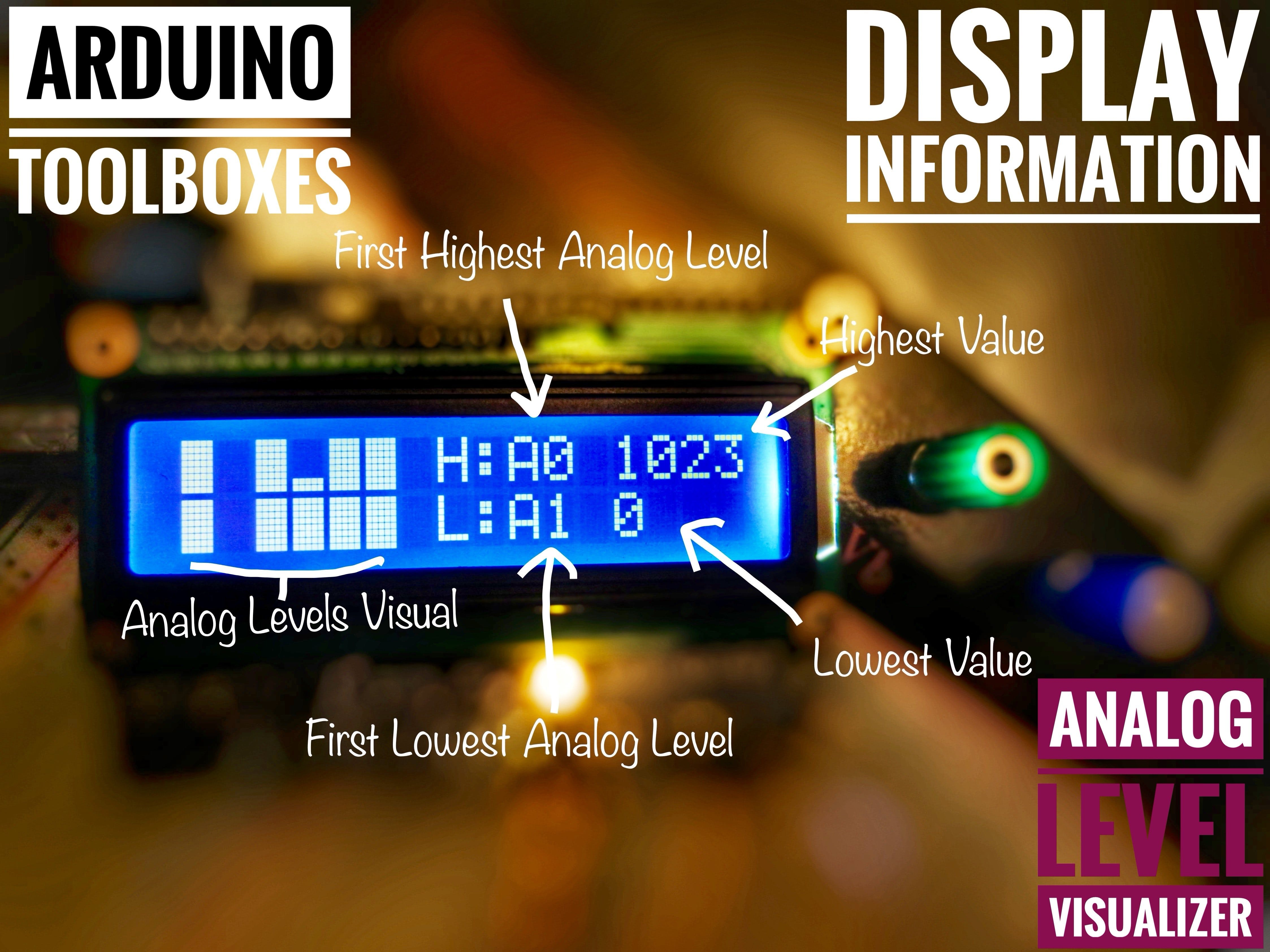Arduino Toolboxes : Analog Level Visualizer