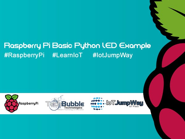 Basic LED Example With Raspberry Pi & IoT JumpWay