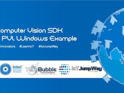 IoT JumpWay Intel® Computer Vision SDK Windows Console TA...