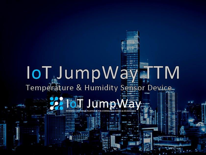 IoT JumpWay TTM ESP8266 Arduino Temperature Device
