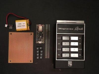 """""""Retro Future"""" Remote Control"""
