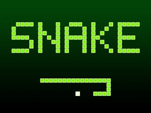 Snake LED Matrix Game