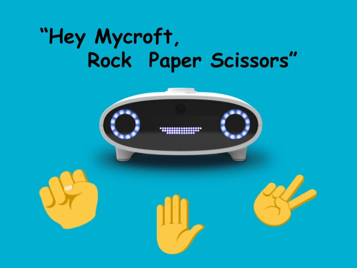 """Hey Mycroft, Rock Paper Scissors"""