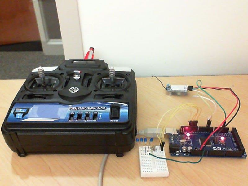 R/C Controller for Arduino and Simulink