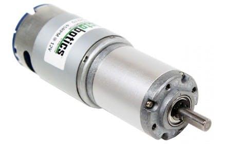 Geared DC Motor w/ 118RPM @12V